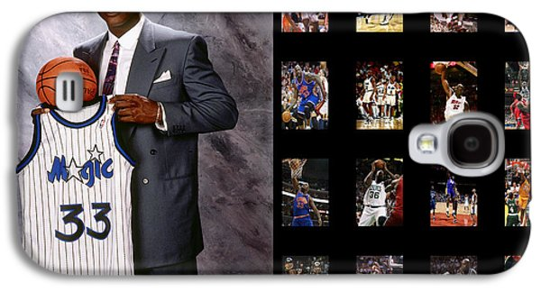 Dunk Galaxy S4 Cases - Shaquille Oneal Galaxy S4 Case by Joe Hamilton