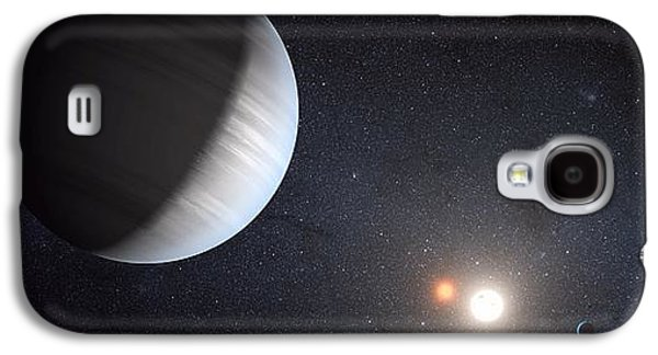 Moon Galaxy S4 Cases - Sharing Two Suns Galaxy S4 Case by Movie Poster Prints