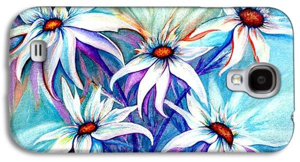 Cheer On Galaxy S4 Cases - Shasta Daisy dance Galaxy S4 Case by Janine Riley