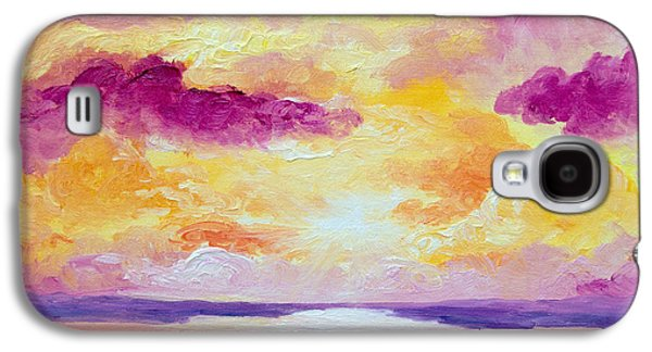 Color Block Galaxy S4 Cases - Shayna Galaxy S4 Case by Alexandra Nicole Newton