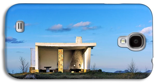 Shed Galaxy S4 Cases - Shed In Mountain Galaxy S4 Case by Mikel Martinez de Osaba