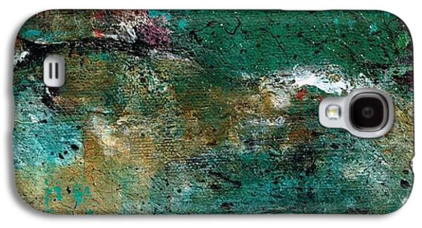Colorful Abstract Galaxy S4 Cases - Sheer Horse Galaxy S4 Case by Frances Marino