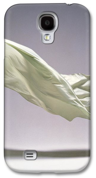 Studio Photography Galaxy S4 Cases - Sheet Floating, Studio Shot Galaxy S4 Case by Panoramic Images