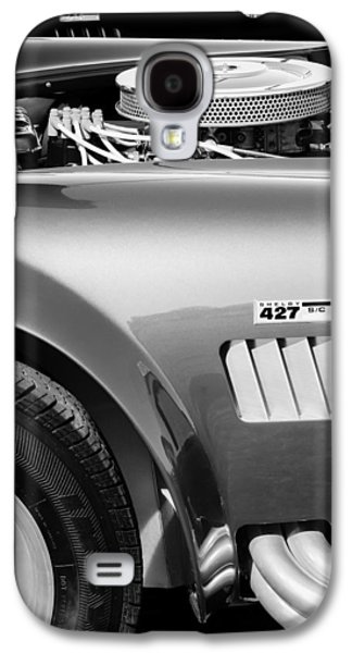 Transportation Photographs Galaxy S4 Cases - Shelby Cobra 427 Engine Galaxy S4 Case by Jill Reger