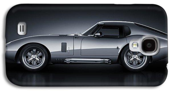 Race Galaxy S4 Cases - Shelby Daytona - Bullet Galaxy S4 Case by Marc Orphanos