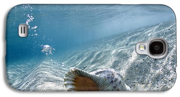 Ocean Art Photography Galaxy S4 Cases - Shell burp Galaxy S4 Case by Sean Davey