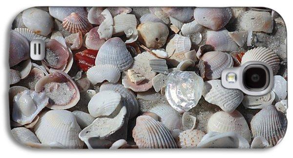 Shells On Treasure Island Galaxy S4 Case by Carol Groenen