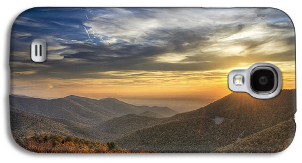 Scenic Drive Galaxy S4 Cases - Shenandoah Virginia sunset Galaxy S4 Case by Pierre Leclerc Photography