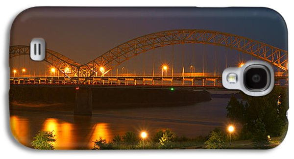 Indiana Scenes Galaxy S4 Cases - Sherman Minton Bridge - New Albany Galaxy S4 Case by Mike McGlothlen