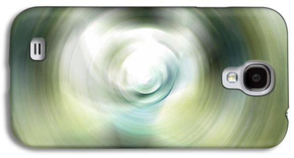 Ultra Modern Galaxy S4 Cases - Shimmer - Energy Art By Sharon Cummings Galaxy S4 Case by Sharon Cummings