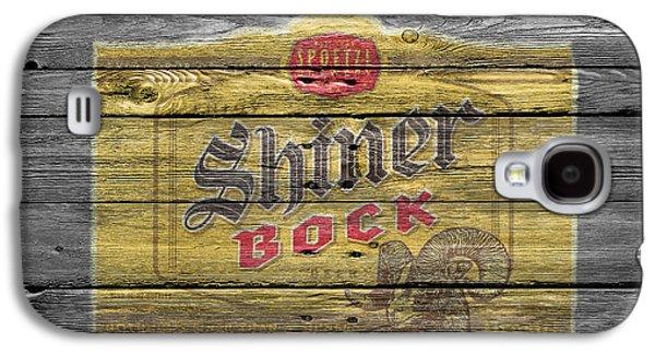 Shiner Bock Galaxy S4 Case by Joe Hamilton