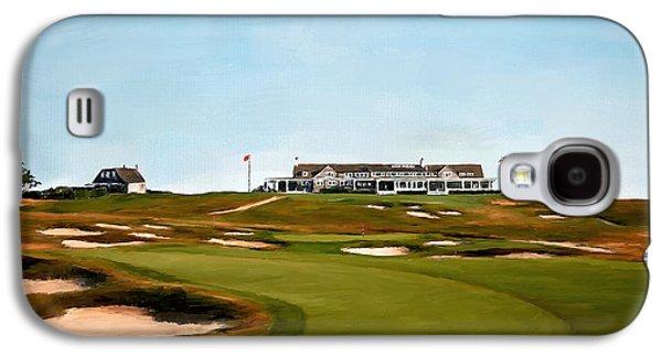 Shinnecock Hills Golf Club Galaxy S4 Case by Scott Melby