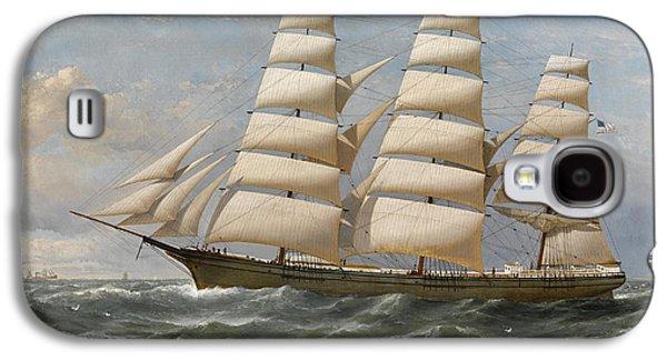 Ship Galaxy S4 Case by Samuel Walters