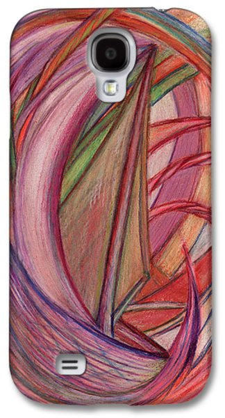Thought Drawings Galaxy S4 Cases - Ships Galaxy S4 Case by Kelly K H B