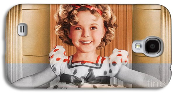 Movie Galaxy S4 Cases - Shirley Temple Galaxy S4 Case by Marvin Blaine