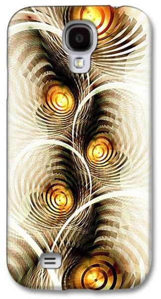 Shock Waves Galaxy S4 Case by Anastasiya Malakhova