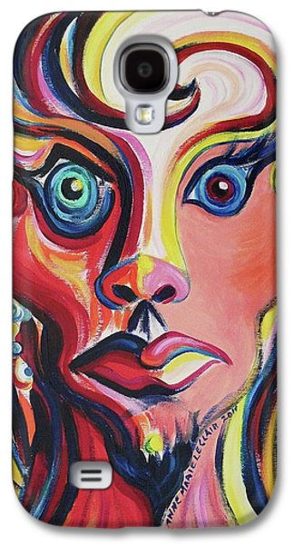 Leclair Galaxy S4 Cases - Shocked Galaxy S4 Case by Suzanne  Marie Leclair