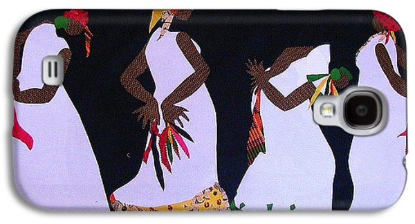 African-americans Tapestries - Textiles Galaxy S4 Cases - Shout Dance Galaxy S4 Case by Ruth Yvonne Ash
