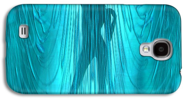 Shower Curtain Galaxy S4 Cases - Showertime Galaxy S4 Case by Giada Rossi