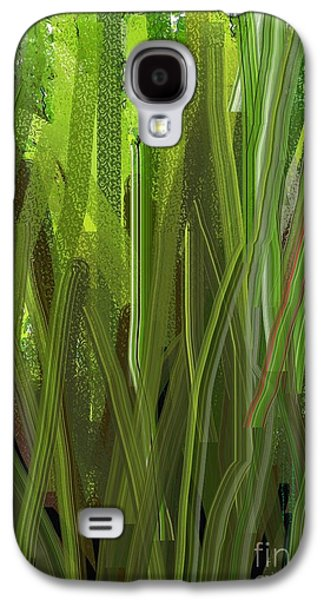 Impressionism Tapestries - Textiles Galaxy S4 Cases - Shrubs Gone Wild Galaxy S4 Case by Claire Masters