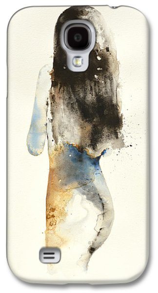 Recently Sold -  - Girl Galaxy S4 Cases - Shy Galaxy S4 Case by Kristina Broza