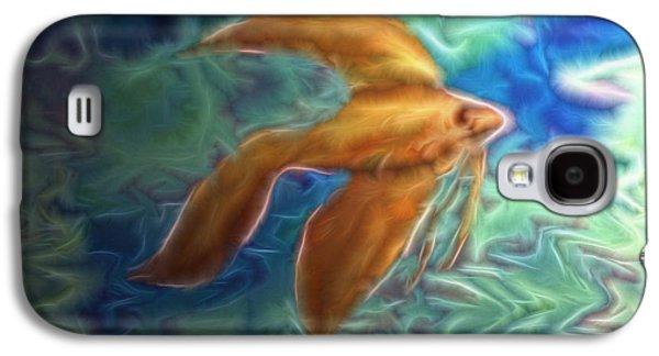 Betta Galaxy S4 Cases - Siamese fighting fish. Galaxy S4 Case by Abdel Enlgeze