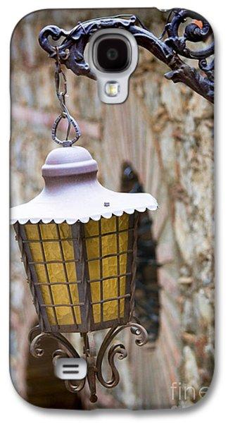 Lane Galaxy S4 Cases - Sicilian Village Lamp Galaxy S4 Case by David Smith