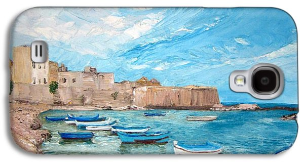 Sicily Paintings Galaxy S4 Cases - Sicily Galaxy S4 Case by Zina Ghulmiyyah raad