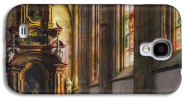Fantasy Photographs Galaxy S4 Cases - Side Chapel of St Barbara Galaxy S4 Case by Joan Carroll