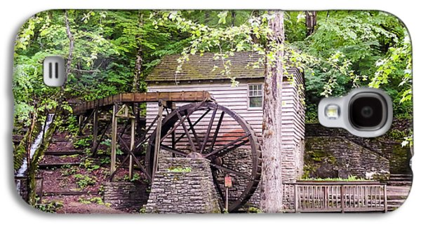 Tennessee Historic Site Galaxy S4 Cases - Side View of Rice Grist Mill Norris Dam State Park Tennessee Galaxy S4 Case by Cynthia Woods