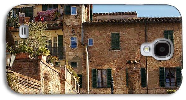 Sienna Italy Galaxy S4 Cases - Sienna Galaxy S4 Case by Barbara Stellwagen