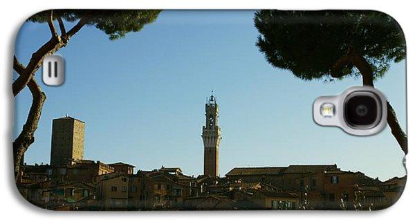 Sienna Italy Galaxy S4 Cases - Sienna Serenity Galaxy S4 Case by Barbara Stellwagen