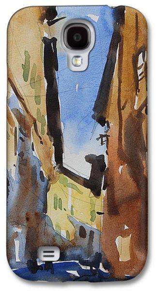 Sienna Italy Galaxy S4 Cases - Sienna Street Galaxy S4 Case by Owen Hunt