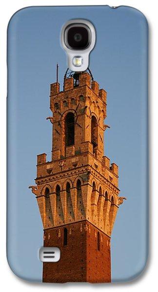 Sienna Italy Galaxy S4 Cases - Sienna Tower Galaxy S4 Case by Barbara Stellwagen