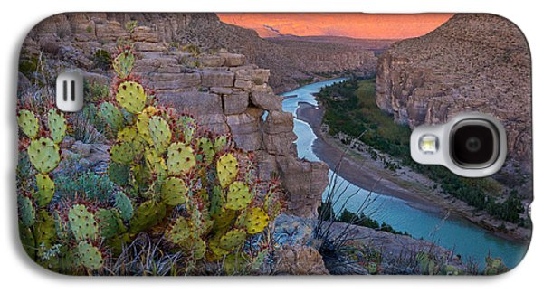Epic Galaxy S4 Cases - Sierra del Carmen and the Rio Grande Galaxy S4 Case by Inge Johnsson