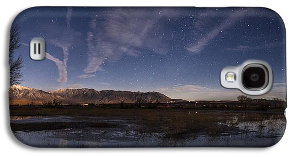 Trees Reflecting In Water Galaxy S4 Cases - Sierra Nights Galaxy S4 Case by Cat Connor