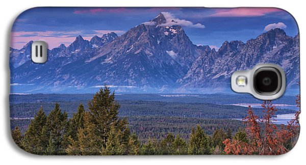 Signal Mountain Sunrise Galaxy S4 Case by Mark Kiver
