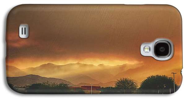 Smoke Digital Galaxy S4 Cases - Signs Galaxy S4 Case by Laurie Search