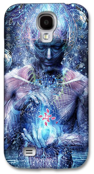 Psychedelic Galaxy S4 Cases - Silence Seekers Galaxy S4 Case by Cameron Gray