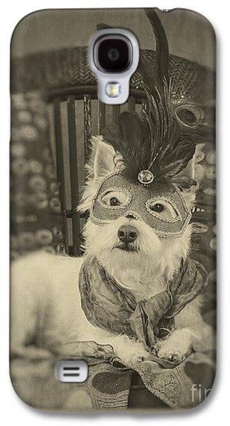 Canine Galaxy S4 Cases - Silent Film Star Galaxy S4 Case by Edward Fielding