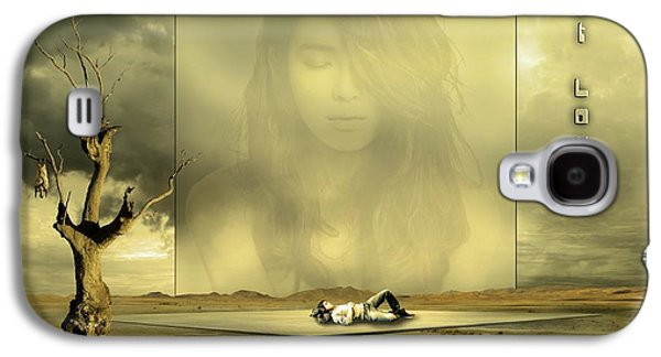 Young Man Galaxy S4 Cases - Silent Love Galaxy S4 Case by Franziskus Pfleghart