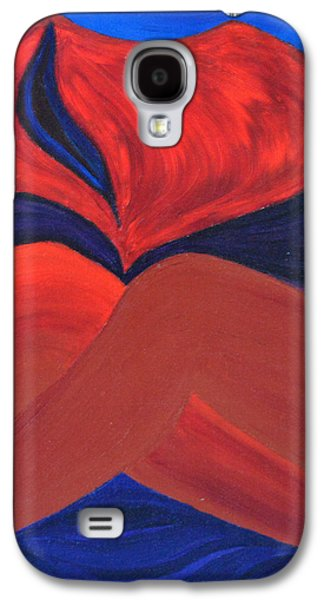 Daina White Galaxy S4 Cases - Silent She Emerges Galaxy S4 Case by Daina White