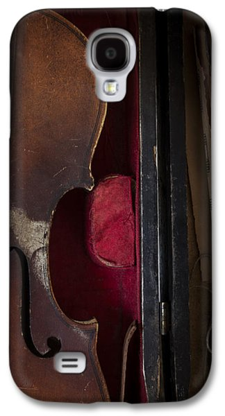 Old Sheet Music Galaxy S4 Cases - Silent Sonata Galaxy S4 Case by Amy Weiss