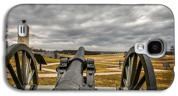 Battlefield Site Galaxy S4 Cases - Silent Vigil at Gettysburg Galaxy S4 Case by Mountain Dreams
