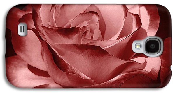 Red Wine Prints Galaxy S4 Cases - Silk  Galaxy S4 Case by Athala Carole Bruckner