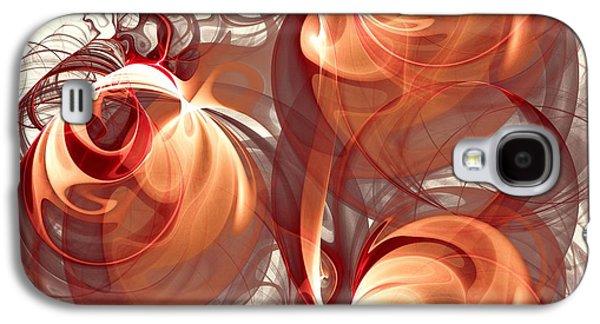 Silk Labyrinth Galaxy S4 Case by Anastasiya Malakhova