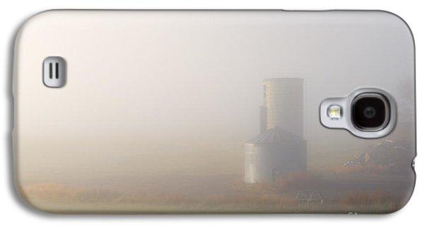 Silos Galaxy S4 Cases - Silo in the Fog Galaxy S4 Case by Mike  Dawson