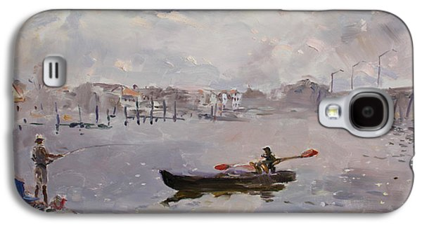 Harbor Paintings Galaxy S4 Cases - Silver Breeze VA Galaxy S4 Case by Ylli Haruni