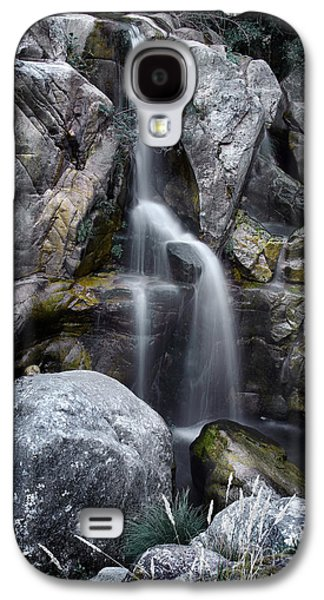 River View Galaxy S4 Cases - Silver Waterfall Galaxy S4 Case by Carlos Caetano