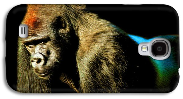 Gorilla Digital Galaxy S4 Cases - Silverback 20150210brun Galaxy S4 Case by Wingsdomain Art and Photography